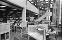 School of Library Science - building interior views