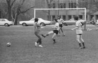 Department of Athletics and Recreation - Intramural soccer game