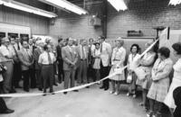 Institute of Aerospace Studies - ribbon cutting ceremony for sonic horn