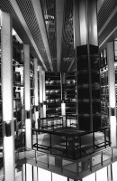 Thomas Fisher Rare Book Library - interior views of stacks