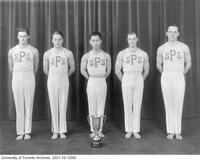 Faculty of Applied Science and Engineering Gymnastics team, 1937-1938.