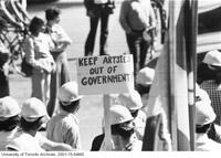 Engineers protest 'Artsies' in government