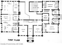 First Floor Plan of the School of Practical Science