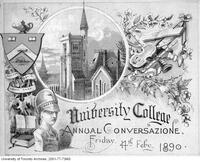 Program for the University College Conversazione