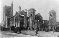 University College after fire of 1890.