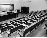 Old Medical Building - Front of lecture hall on the first floor