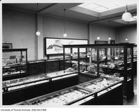 Royal Ontario Museum - cases in Geology section