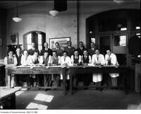 5ht Year Architect Students, 1937