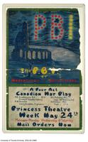 """P.B.I."" [Poor Bloody Infantry], 1920 - poster"