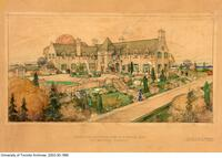 Proposed residence for F.F. Dalley Esq. at Ancaster Ontario, John M. Lyle, architect.