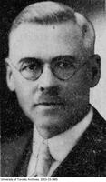 Portrait of Dr. Samuel Johnston taken in the 1920s.