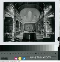 University College - Old Library prior to fire of 1890.