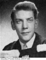 Donald Sutherland, graduation portrait.