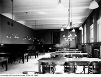 Library, view of faculty reading room