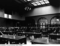 Library, view of men's reading room