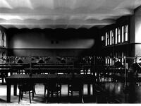 Library, view of women's reading room