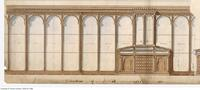 Architectural drawing of the University of Toronto Museum,