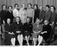 Faculty members of the School of Nursing