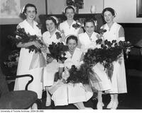 The First Basic Diploma Graduates from the School of Nursing, 1936