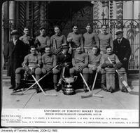 University of Toronto Hockey Team, Senior Intercollegiate Champions, 1927-1928