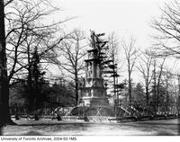 Volunteers Monument, Queen's Park