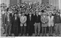 4th year Civil Engineering Class, 1957