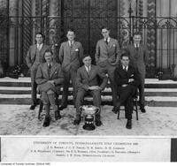 University of Toronto Intercollegiate Golf Team Champions, 1929