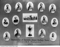 University of Toronto Junior Hockey Team, Junior O.H.A. Champions 1915