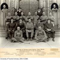 University of Toronto Senior Hockey Team 1919--20, Intercollegiate Champions and Allan Cup Defenders