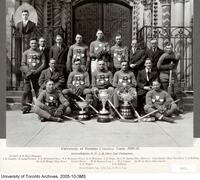 University of Toronto Hockey Team 1920-21, Intercollegiate, O.H.A., Allan Cup Champions
