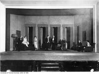 "Stage scene of Hart House Theatre production ""You Never Can Tell"""