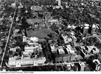Aerial view of the University of Toronto Campus
