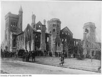 University College after the fire
