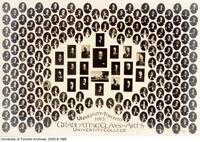 University of Toronto 1913 Graduating Class in Arts, University College