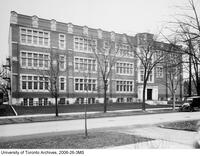 Ontario College of Education, side view, Huron St. 1923