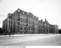 University of Toronto Schools, extension completed, Bloor St. March 23 1933