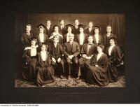 Faculty of Education, Literary Society Executive, Spring Term 1908-1909