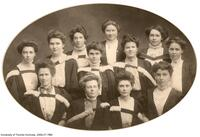 Faculty of Education, Executive of the Y.W.C.A 1908-1909