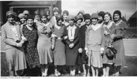 Library School Class, Ontario College of Education?, 1929-1930