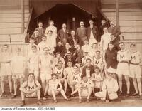 Oxford-Cambridge vs Toronto-McGill, Sept 14 1901