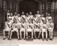 University of Toronto Track Team, Intercollegiate Champions, 1926.