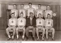 University of Toronto Indoor Track Team, 1956-57