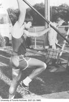 Bruce Simpson Pole Vaulting