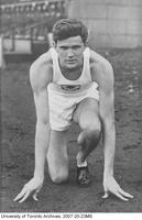 Larry O'Connor - Canadian Champion, 120 Yard Hurdles, 1937