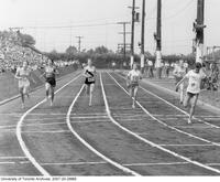British Empire Games Trials at East York, Aug 4 - 6, 1962: Probably Women's 220 Yards