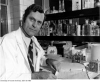 James Till in his laboratory, 1975