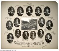 University of Toronto, Graduating Class in Forestry, 1913