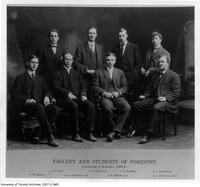 Faculty and Students of Forestry, 1907-08