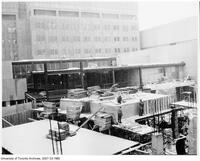 Construction of the Medical Sciences Building