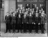 University of Toronto Schools - students group portrait